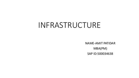 Https Www Slideshare Net Fmisbell Sap Mba Impact Overview 2016 by Infrastructure
