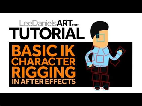 Tutorial Simple After Effects Cc Character Animator the use of after effects in the creation of animated