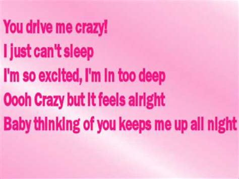 drive you mad lyrics britney spears you drive me crazy with lyrics youtube