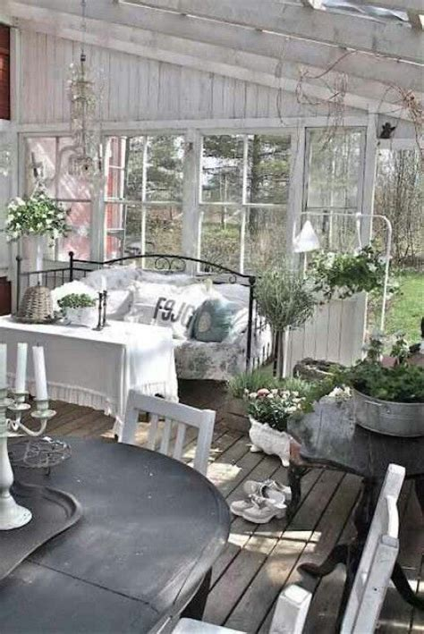 shabby porch morning coffee pinterest