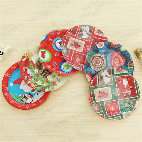 online buy wholesale christmas paper plates from china