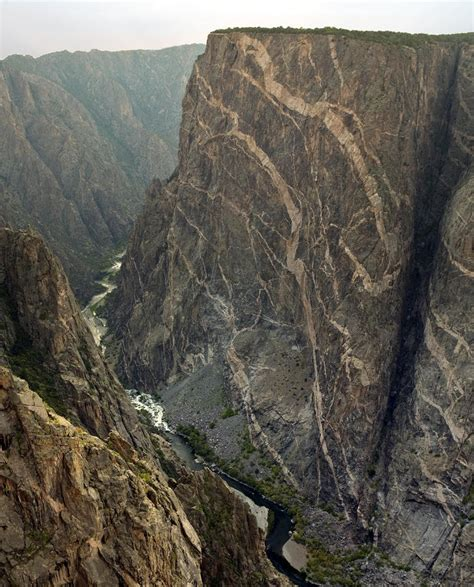 painted wall black canyon painted wall in the black canyon of the gunnison in