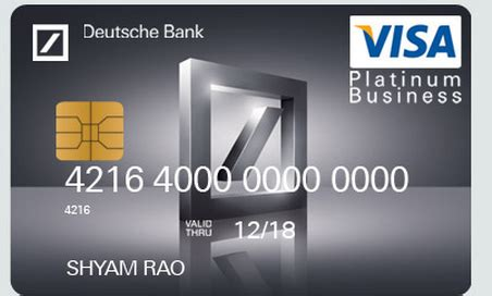 visa card deutsche bank sbi business debit card withdrawal limit best business cards