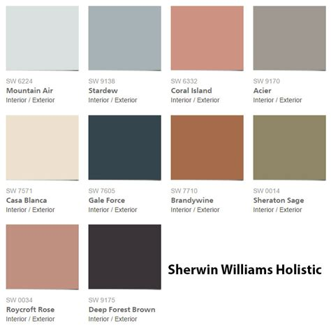 sherwin williams holistic sherwin williams paint colors colors
