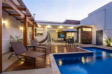 area casa casas piscinas 60 modelos projetos e fotos