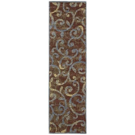 8 foot runner rug nourison expressions multi 2 ft 3 in x 8 ft rug runner 579461 the home depot