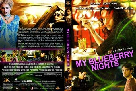 my blueberry nights cover dvd custom covers my blueberry nights cover 001 dvd