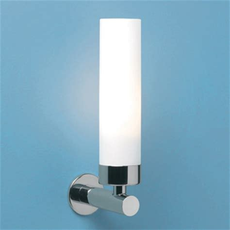 bathroom tube lights tube 0274 bathroom wall light with chrome arm and opaque