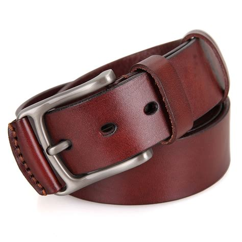 Handcrafted Leather Belts - vegetable handmade leather belt
