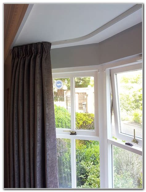 curtains rails ceiling curtain tracks for bay windows curtain menzilperde net