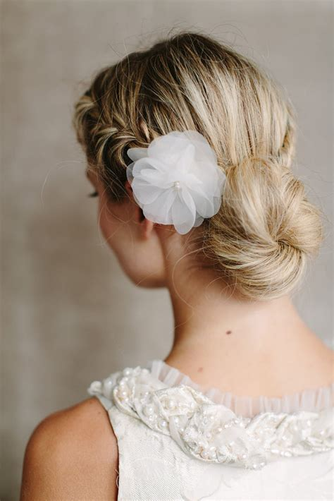 Wedding Hairstyles Braids Low Bun by 40 Wedding Hairstyles For Your Day