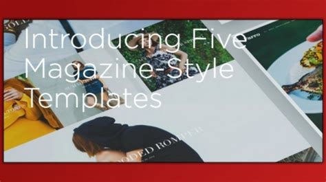 magazine layout squarespace squarespace introduces new magazine style templates