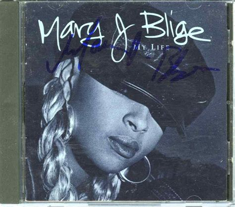 J Blige Album In Stores Today by J Blige My Signed Cd Certified Authentic Psa
