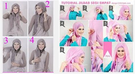 tutorial cara memakai jilbab segi empat terbaru 2014 tutorial memakai jilbab segi empat simple dan modis terbaru