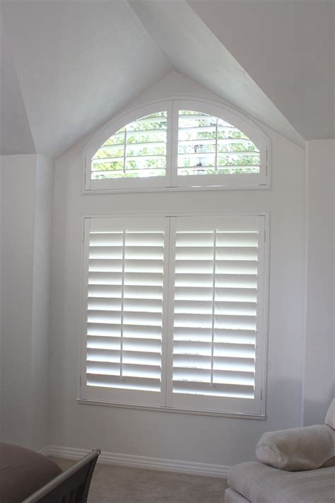 arch window shutters interior custom window shutters and blinds photo gallery