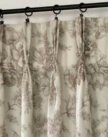 How To Hang Curtains With Rings And Hooks Pleated Drapes Curtain Rods Curtain Design
