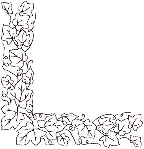 Outlines Designs by Corner Outline Embroidery Designs Machine Embroidery Designs At Embroiderydesigns