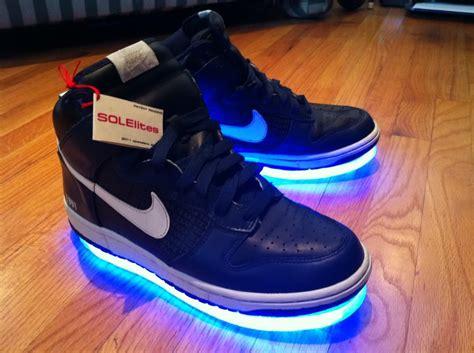 glowing shoes solelites glowing shoes noveltystreet