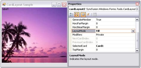 layout manager windows forms cardlayout windowsforms syncfusion