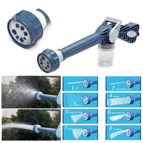Ma Ez Jet Water Cannon multifunction ez jet water cannon 8 in 1 turbo water spray nozzle at banggood sold out