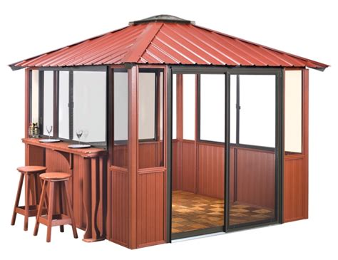 10x10 Screen Gazebo Gazebos