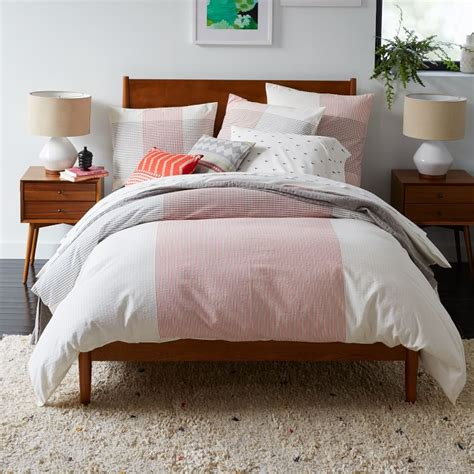 mid century bedding mid century modern bedding set collections homesfeed