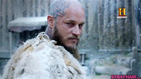 ragnar shaved head awesome new vikings hairstyles coming in season 4 strayhair