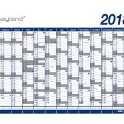Kalender 2018 Med Helligdage Kalender 2018 Mayland K 230 Mpe 13md R 216 R K 248 B