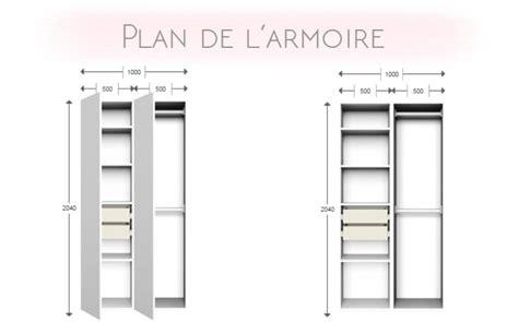 Faire Une Armoire Sur Mesure by Une Armoire Sur Mesure Pour Sa Chambre