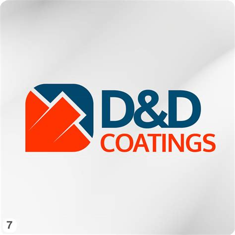 paint companies painting company logo design for d d coatings