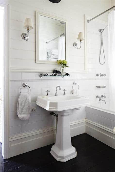 bathroom shelf over sink glass shelf over sink traditional bathroom elle decor