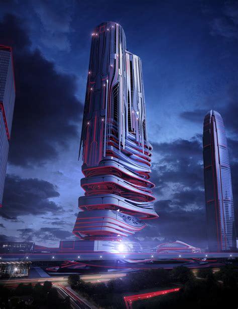futuristic architecture evolo competition futuristic skyscraper flyingarchitecture