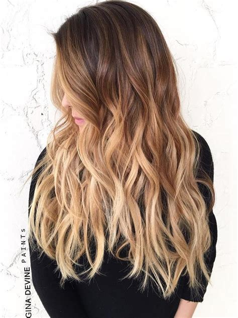 pictures of brown and blode ombre hair blonde brown hair colors for 2017 page 2 best hair