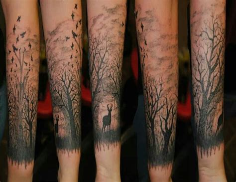 woodland tattoo designs 56 best trees and woodland images on tree