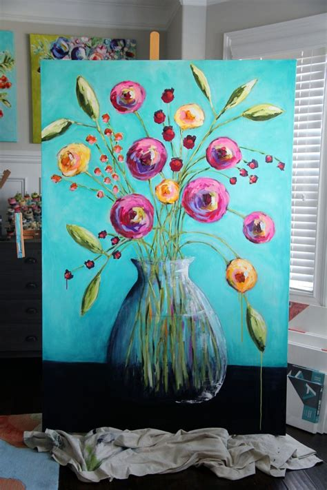 day acrylic painting ideas 1000 ideas about easy acrylic paintings on