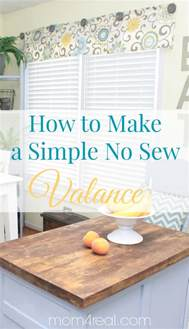 how to sew valances easy no sew valance 4 more no sew projects 4 real