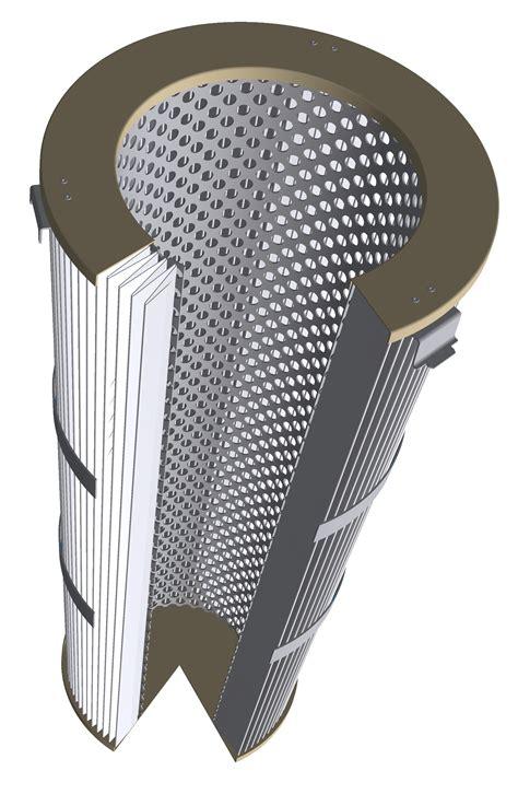 Filter Clik I conical click cartridge nordic air filtration
