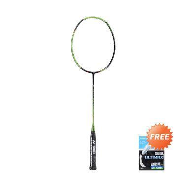 Raket Bulutangkis Badminton Anak Anak Cover Seventh Isi 2 jual yonex voltric flash boost black green paket bundling senar bg 66 harga