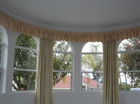 curved bay window curtain track photo gallery
