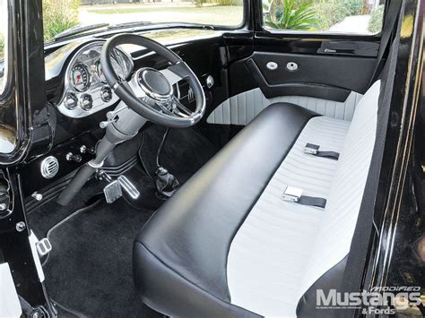 1956 ford f100 interior modification of car and