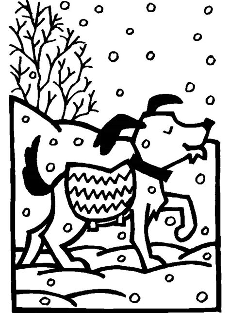 winter a grayscale coloring book books coloriage chiens 224 colorier allofamille