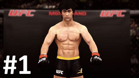 download game android ufc mod ufc 2015 android gameplay bruce lee career mode part 1