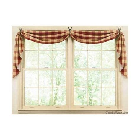curtain window 25 best ideas about swag curtains on country