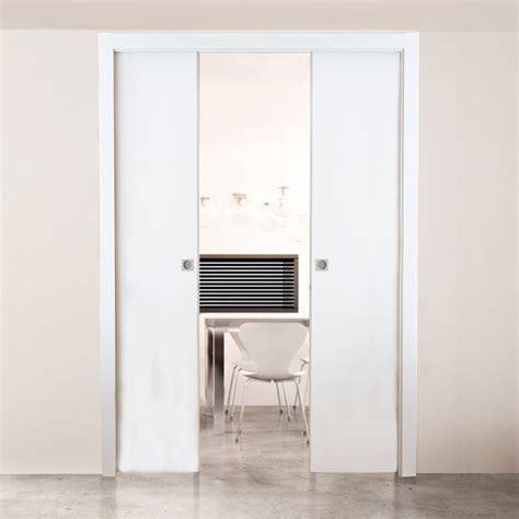 Interior Doors Home Hardware by Buy Scrigno Double Pocket Door Sliding System