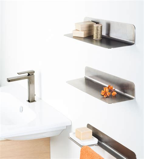 Bathroom Shelf Black Chrome Bathroom Accessories Black And Chrome Bathroom Accessories