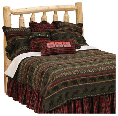 Mcwoods Bedspread Rustic Quilts And Quilt Sets By Rustic Quilt Bedding Sets