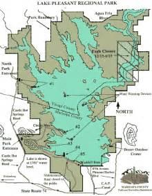 arizona fishing map pleasant