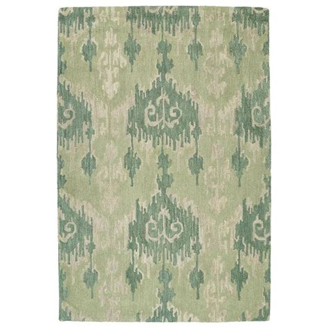 southwestern throw rugs shop kaleen casual seafoam rectangular indoor handcrafted southwestern throw rug common 3 x 5