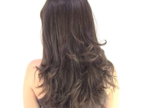 como cortar cabello c 243 mo cortar el cabello en capas tutorial peinados