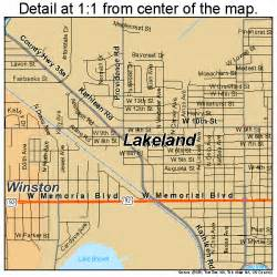 lakeland florida map 1238250